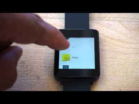 LG G Watch with Android Wear First Look