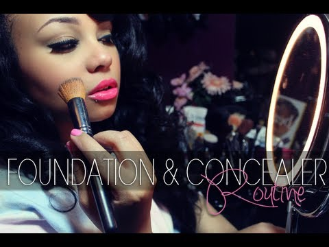 BEAUTY | FOUNDATION & CONCEALER ROUTINE | BH COSMETICS & MAC