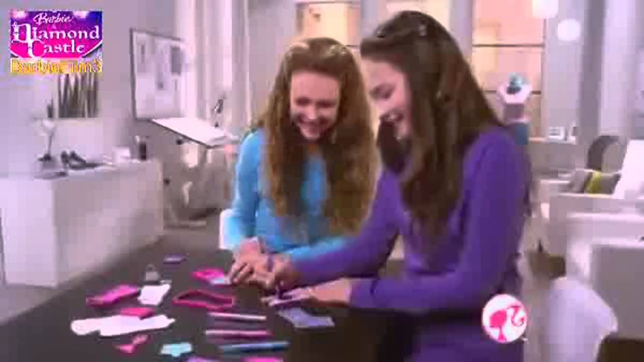 Barbie Fashion Design Maker Commercial Barbie Fashion Design Plates