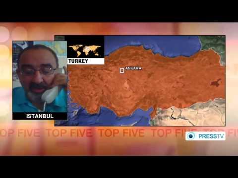 14 October 2014 Breaking news Mideast crisis widens as Turkey bombs Kurdish militants