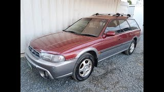 (SOLD) Automatic 4cyl AWD Subaru Outback Limited Wagon 1998 Review