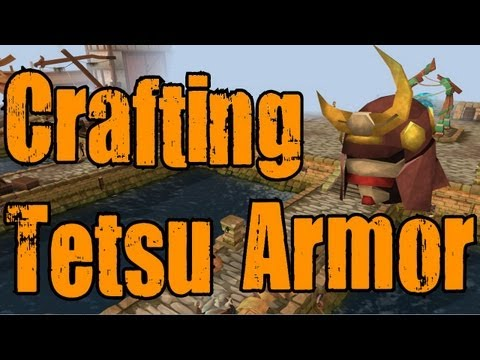 Runescape 3 - Making Full Tetsu Armor! (finally). + Will I ever return to OSRS? - Commentary