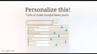 Google News  Search and personalize the worlds news