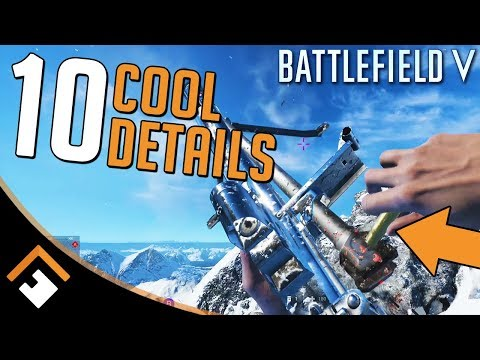 Wait WHAT? 10 Cool Details in Battlefield V