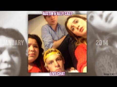 Austin & Ally Cast Live Chat [January 20, 2014]