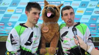 Campionato italiano Sidecarcross FMI 2016: Savignano, intervista Righi-Santolini