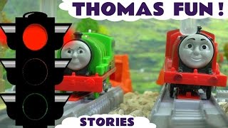 Thomas and Friends Fun Toy Trains for Kids Episode Compilation with Minions and Racing - ToyTrains4u