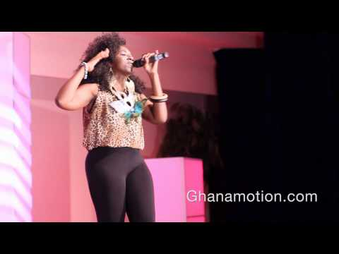 Yaa Dakwaa - performs C.O.L.D at the VIP Summer Jam '12