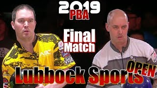 2019 Bowling - PBA Bowling Lubbock Sports Open Final
