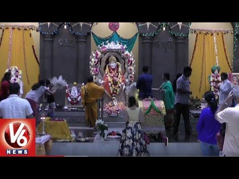 Indians Celebrate Guru Purnima With Great Fervor And Gaiety In Houston | V6 USA NRI News