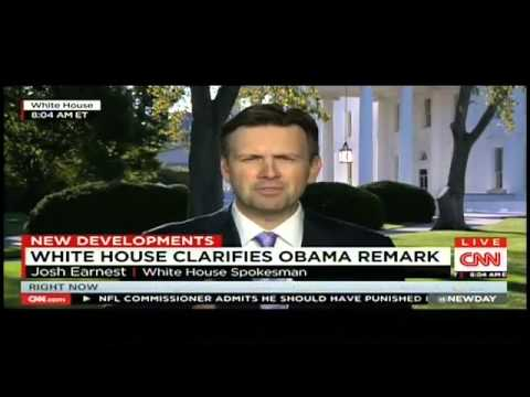 Josh Earnest keeps claiming Obama's ISIL strategy is 'clear' | SuperCuts #91