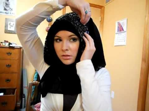 Khaleeji hijab tutorial 2 Music Videos
