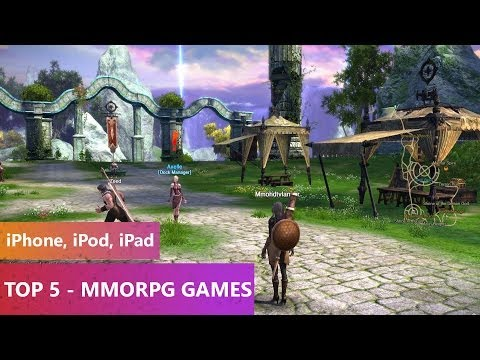 TOP 5 - MMORPG Games 2013 2014 (iPhone. iPod. iPad)
