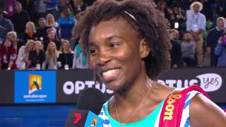 Match point: Venus Williams v Agnieszka Radwanska - Australian Open 2015
