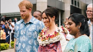 'Security Risk' Forces Meghan To Leave Fiji Market Early! Harry & Meghan Royal Visit Fiji Day 2