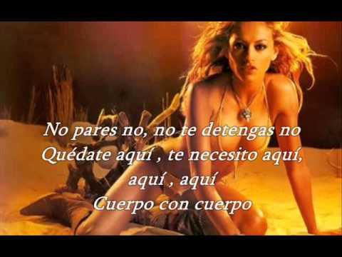 Paulina Rubio Sexi Dance Letra video