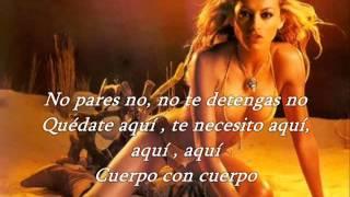 Paulina Rubio Sexi Dance Letra