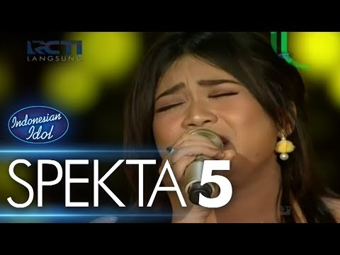 JODIE - TRUE COLORS (Cyndi Lauper) - Spekta Show Top 10 - Indonesian Idol 2018 | indonesian