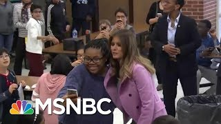 Joe: Historians Will Look Back At First Lady Melania Trump's Cause   Morning Joe   MSNBC