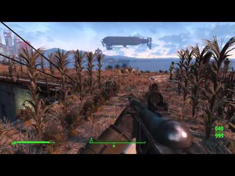 Killing stuff in post-Apocalyptic Boston Fallout 4 Live Stream