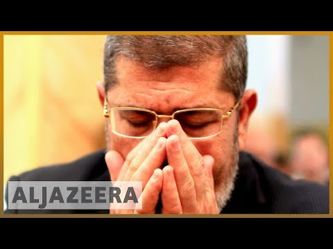 Egypt's Morsi sentenced to death