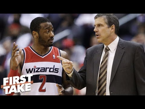 John Wall clashing with Wizards' head coach is nothing new – Stephen A. | First Take