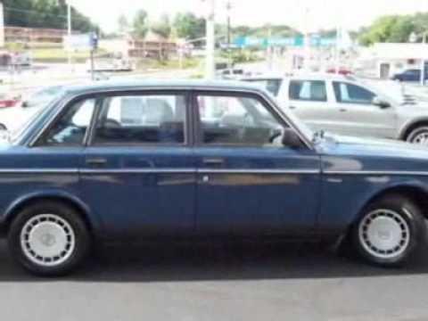 1990 Volvo 240 Dl Sedan Winston Salem Nc Youtube