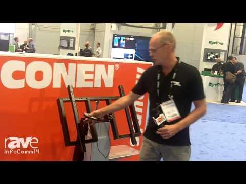 InfoComm 2014: ConenMounts Displays its SCETTA Height Adjustable Cart