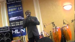 Lesly Louis (Nicodem) Comedy At the Haitian Movie Awards
