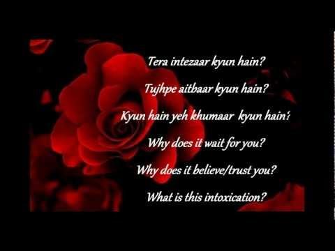 Players-Dil ye bekarar kyun hai? lyrics & English translation...