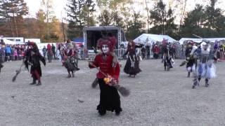 Tanz der Wolfshäger Hexenbrut an Walpurgis 2017, zum Lied