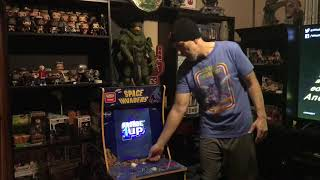 Arcade1UP Space Invaders Walmart exclusive