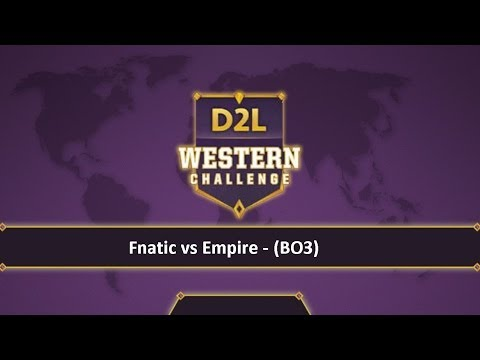 Dota2 - Fnatic vs Empire [D2L] Caster Pingac