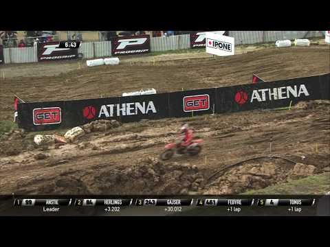 Herlings crash -  MXGP of Pays de Montbe�liard
