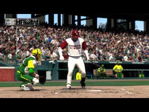 MLB 15 THE SHOW PS4 2016 WORLD BASEBALL CLASSIC -- GROUP C--#6 PUERTO RICO  7    #18 SOUTH AFRICA  0
