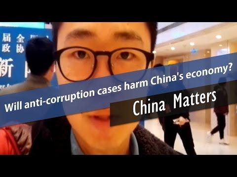 I am on lianghui 6 Will anti-corruption cases harm China's economy
