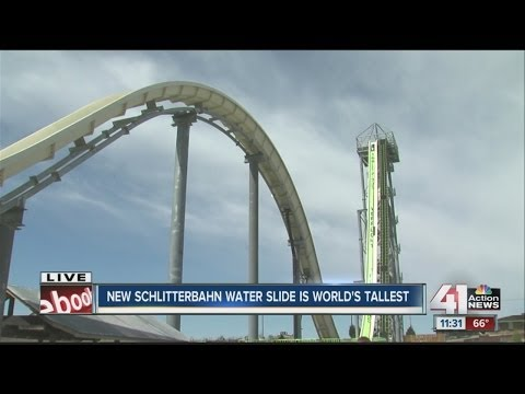 GUINESS WORLD RECORD: Schlitterbahn's 'Verrückt' Water Slide is Tallest