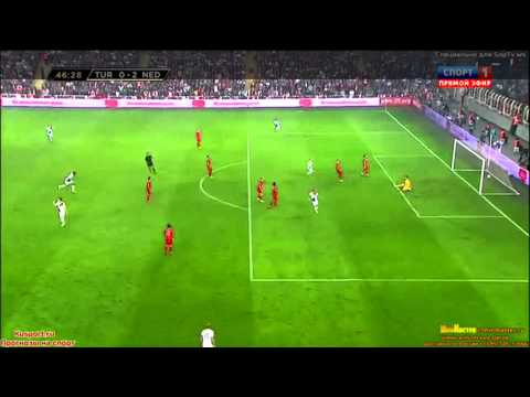 Turkey vs Netherlands 0-2 All Goals & Highlights (15/10/2013)