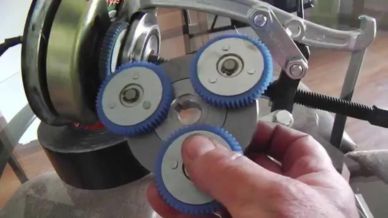 Electric bike hub motor planetary gear upgrade youtube for Mud motor electric clutch