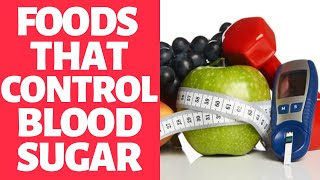 Foods That Control Blood Sugar At Home - Type 2 Diabetes Treatment At Home