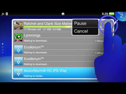PS Vita tutorial video: How to redeem a voucher code
