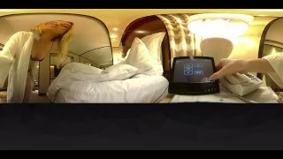 Model wakes up in vegas: a 360 experience