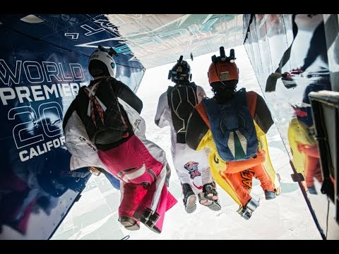Head to Head Wingsuit Racing - Red Bull Aces 2014 klip izle