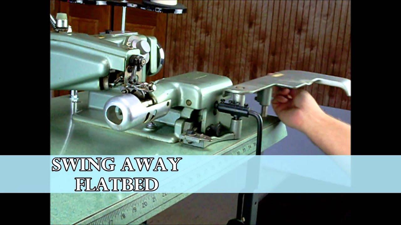 The Rex 800 2 Blind Stitch Industrial Sewing Machine