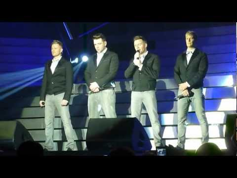 Westlife - Flying Without Wings, Cardiff, 17th May 2012 Music Videos