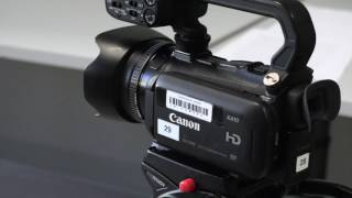Canon XA-10 & Basic Video Capture Methods - in 4K!