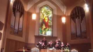 """Pioneer choir singing """"Canticle of Hope"""""""
