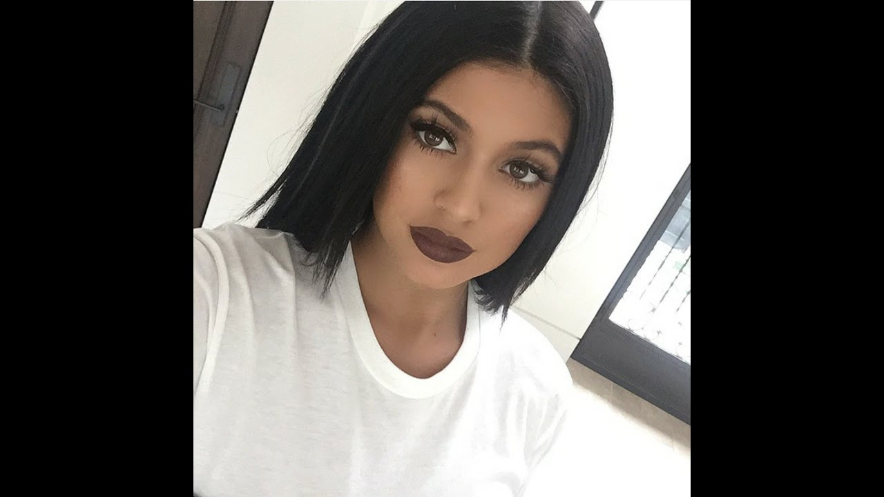 Kylie Jenner Inspired Wispy Lashes Brown Lip Youtube
