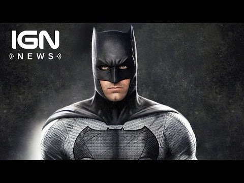 Ben Affleck Talks Solo Batman Movie Script Status and Release Date - IGN News
