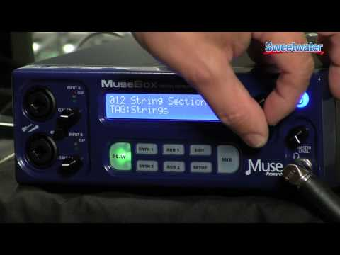 Peavey Musebox Plug-in Sound Module Demo - Sweetwater Sound